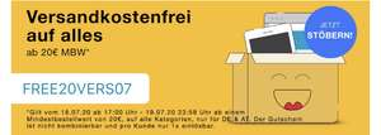 Rebuy, kostenloser Versand ab 20€