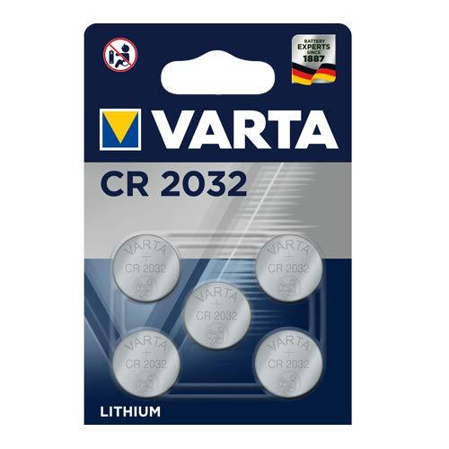 5x VARTA CR2032 Batterien
