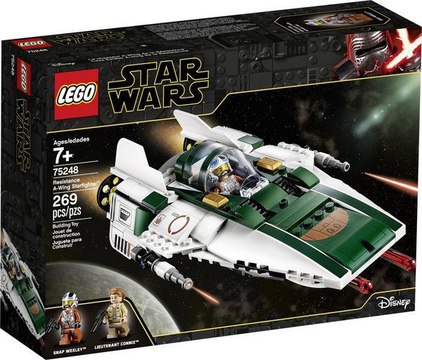 LEGO Star Wars Episode IX - Widerstands A-Wing Starfighter (75248)