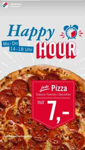 Dominos Pizza Happy Hour Mo-Do, 14 - 18Uhr (Medium Pizza)