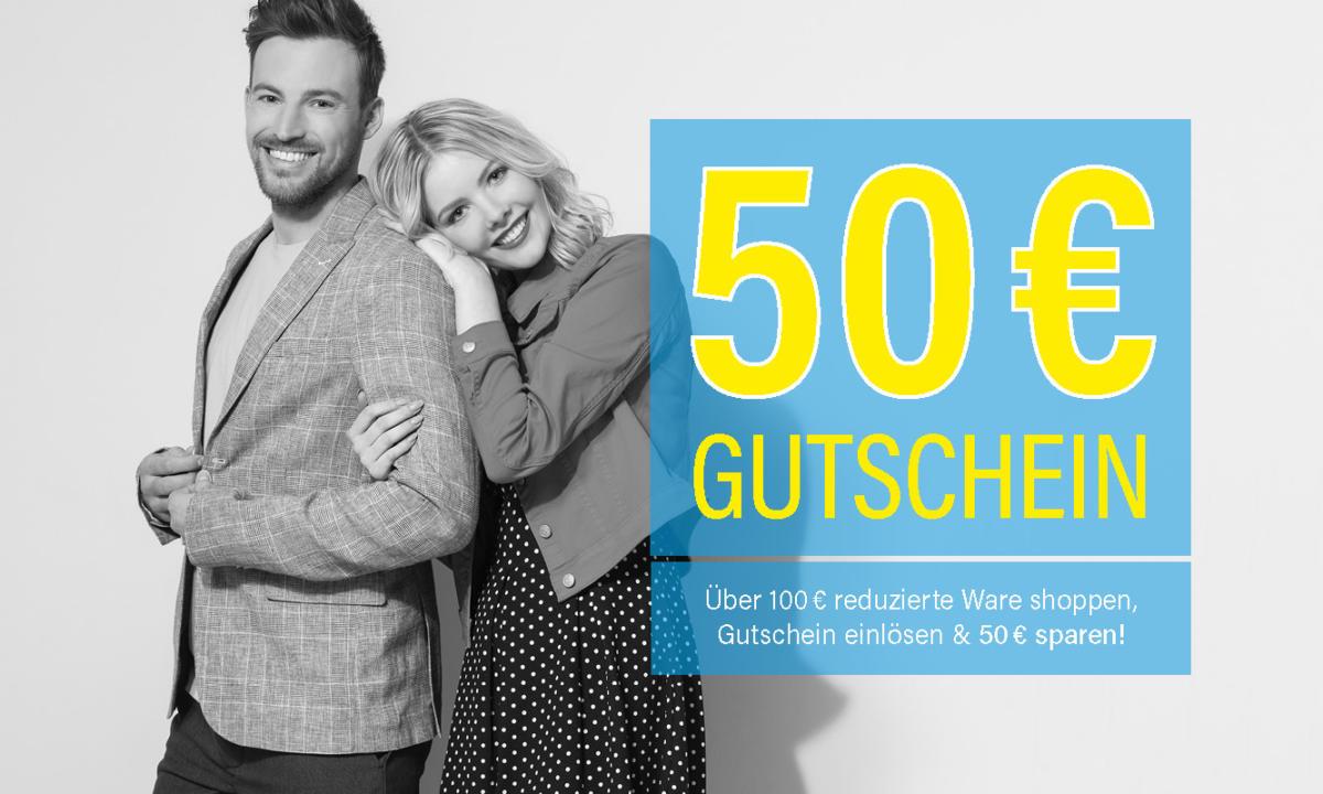Fussl Modestraße: 50€ Rabatt ab 100€ Einkaufswert auf Sale Artikel