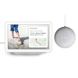 Google Nest Hub + Google Nest Mini Sprachassistent