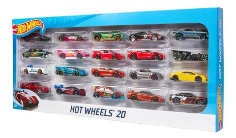Hot Wheels - 20er Geschenkset Autos [lokal Maximarkt Wels]