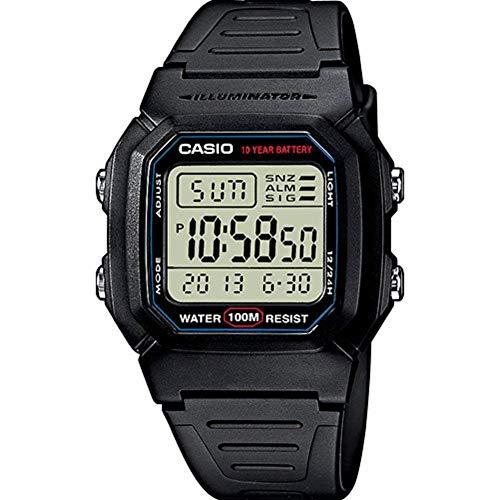 Casio Collection Herren-Armbanduhr W-800H-1AVES