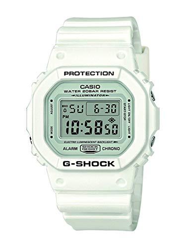 Casio G-Shock DW-5600BB-1ER für nur 47,44 € und die weiße Casio G-Shock DW-5600MW-7ER für nur 47,51 €.