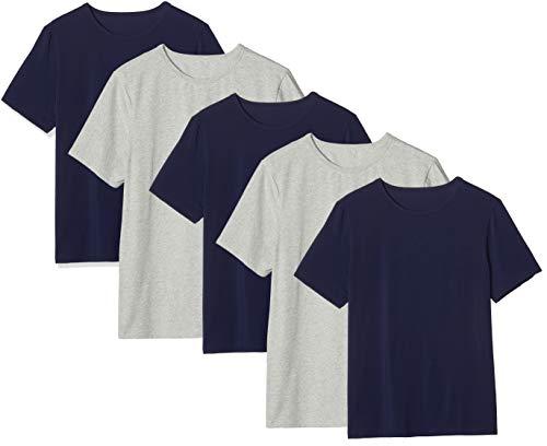 Amazon-Marke: find. Herren Shirts aus Baumwolle, 5er-Pack (Größe M ab 7,85€ / L ab 11,62€)