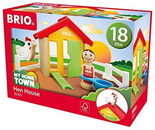 Preisjäger Junior: BRIO 30305 - My Home Town Hühnerhaus