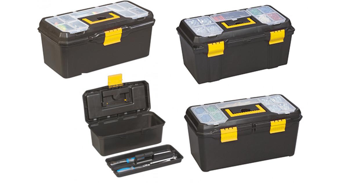 Zgonc Yellow Profi Line Werkzeugkoffer-Set 4-tlg.