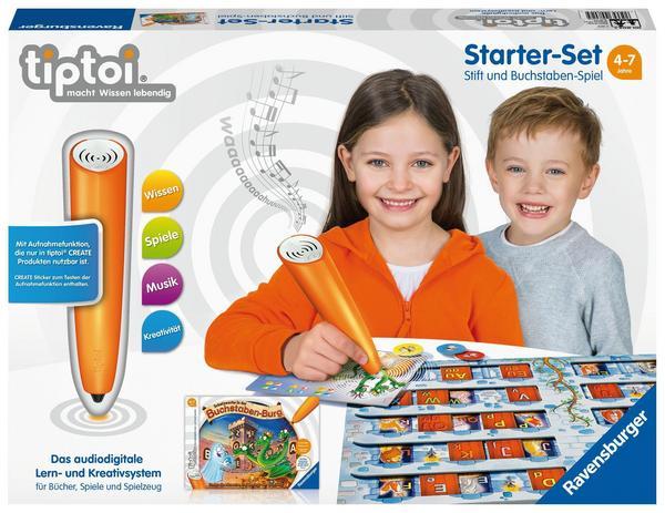tiptoi Starterset mit Stift und Buchstaben-Spiel bei Thalia (4-7 Jahre)