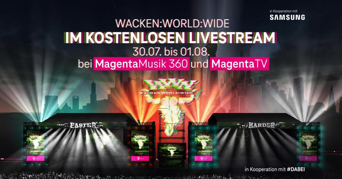WACKEN WORLD WIDE - Wacken Open Air Livestream (29.07-01.08 - Start 17:00h)