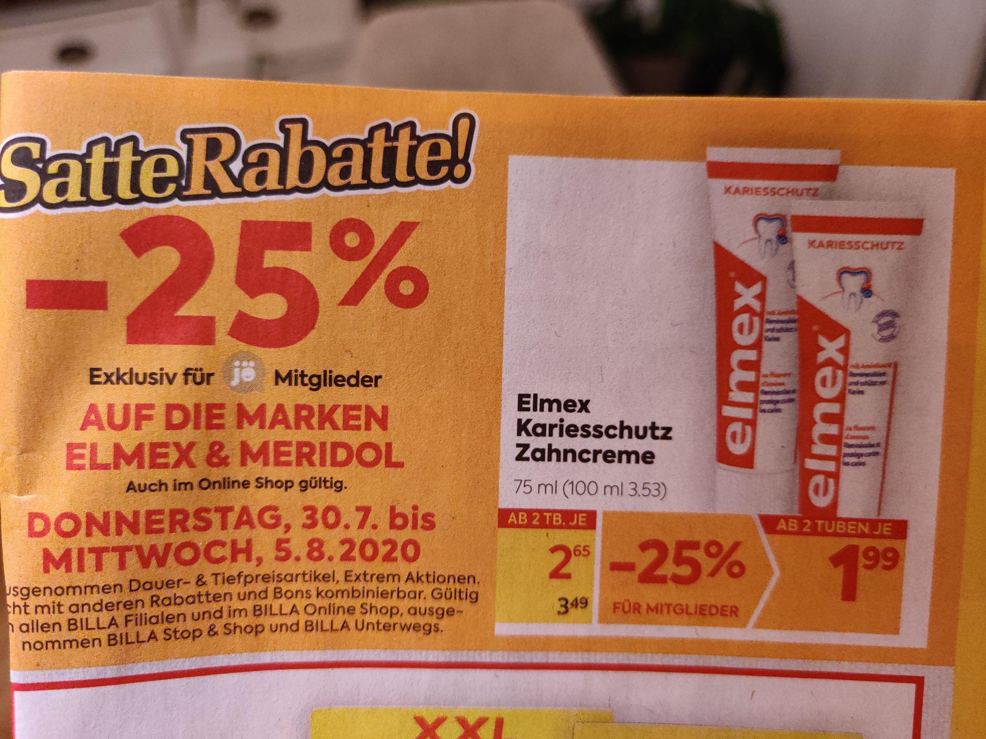 Elmex Karriesschutz mit Sticker zum Superpreis