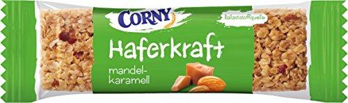 "12x65g Corny Haferkraft ""Mandel-Karamell"""
