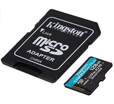 Kingston Canvas Go! Plus microSDXC, 128GB
