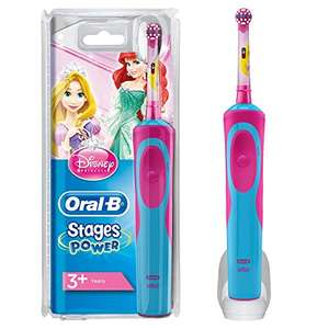 Oral-B Stages Power Elektrische Zahnbürste Kids Princess