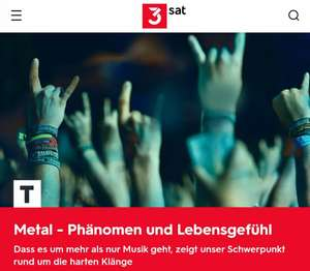 Diverse Metal Konzerte (3Sat Mediathek)