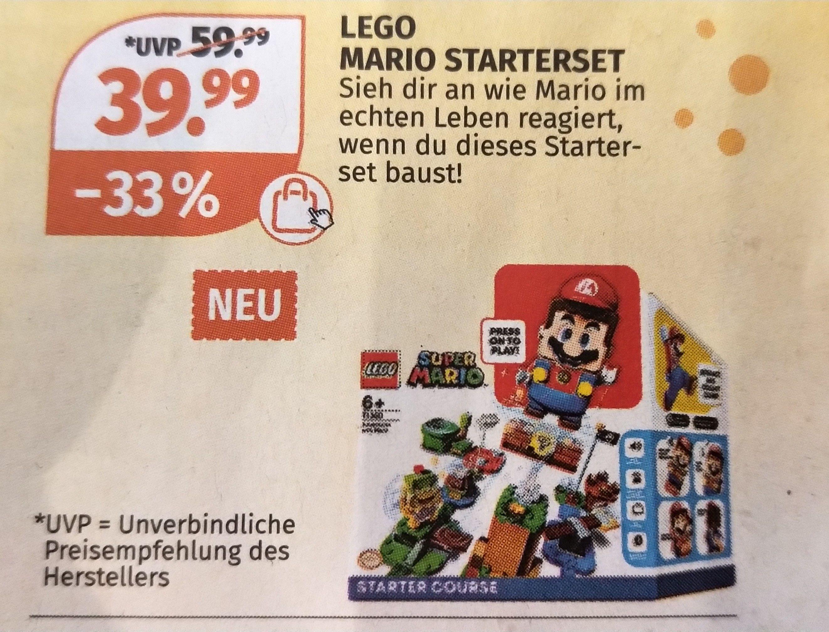 [Müller] Lego Super Mario Starterset ab 5.8.