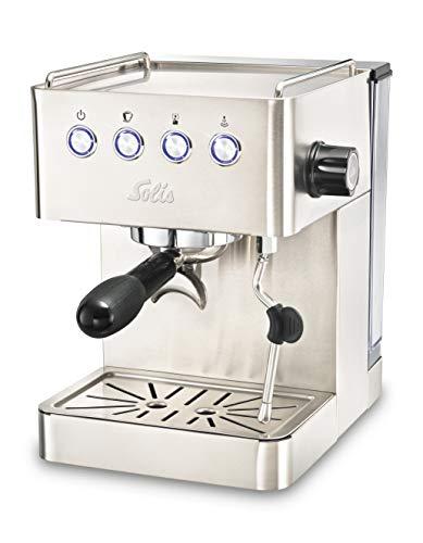 Solis Espressomaschine, 15 bar, 58 mm Profi-Siebhalter, Edelstahl, Barista Gran Gusto (Typ 1014)