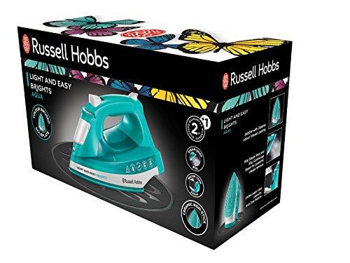 "Russell Hobbs Dampfbügeleisen ""Light & Easy Aqua"" (2400 Watt)"