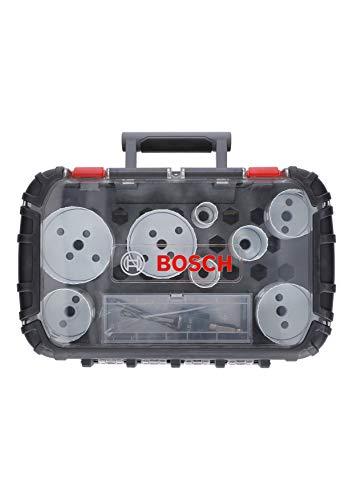 Bosch Professional - 11 tlg. Lochsägeset für Holz und Metall