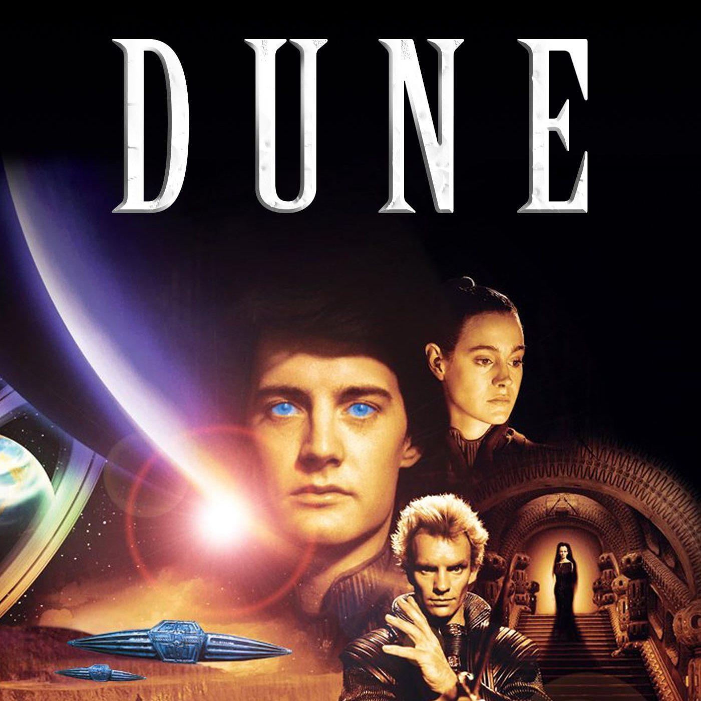 """DUNE """"Der Wüstenplanet"""" von David Lynch auf Arte.tv ab 9.8. bis 15.8. gratis anschauen -Science Fiction-"""