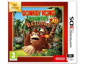 Donkey Kong Country Returns 3D - [3DS]