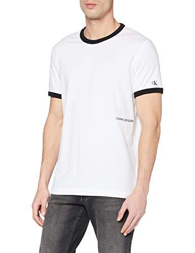 Calvin Klein Jeans Herren Contrasted Ringer Reg Fit Tee T shirt Gr: XS - XXL