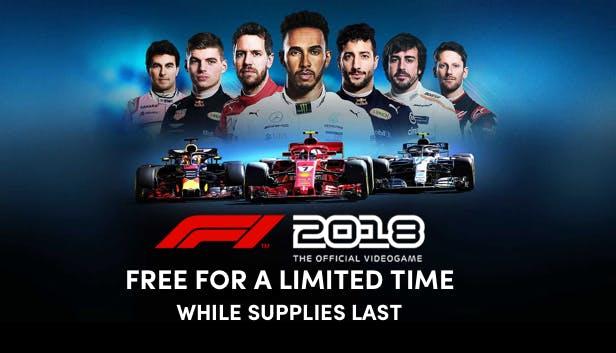 [Humble Bundle] F1 2018 gratis