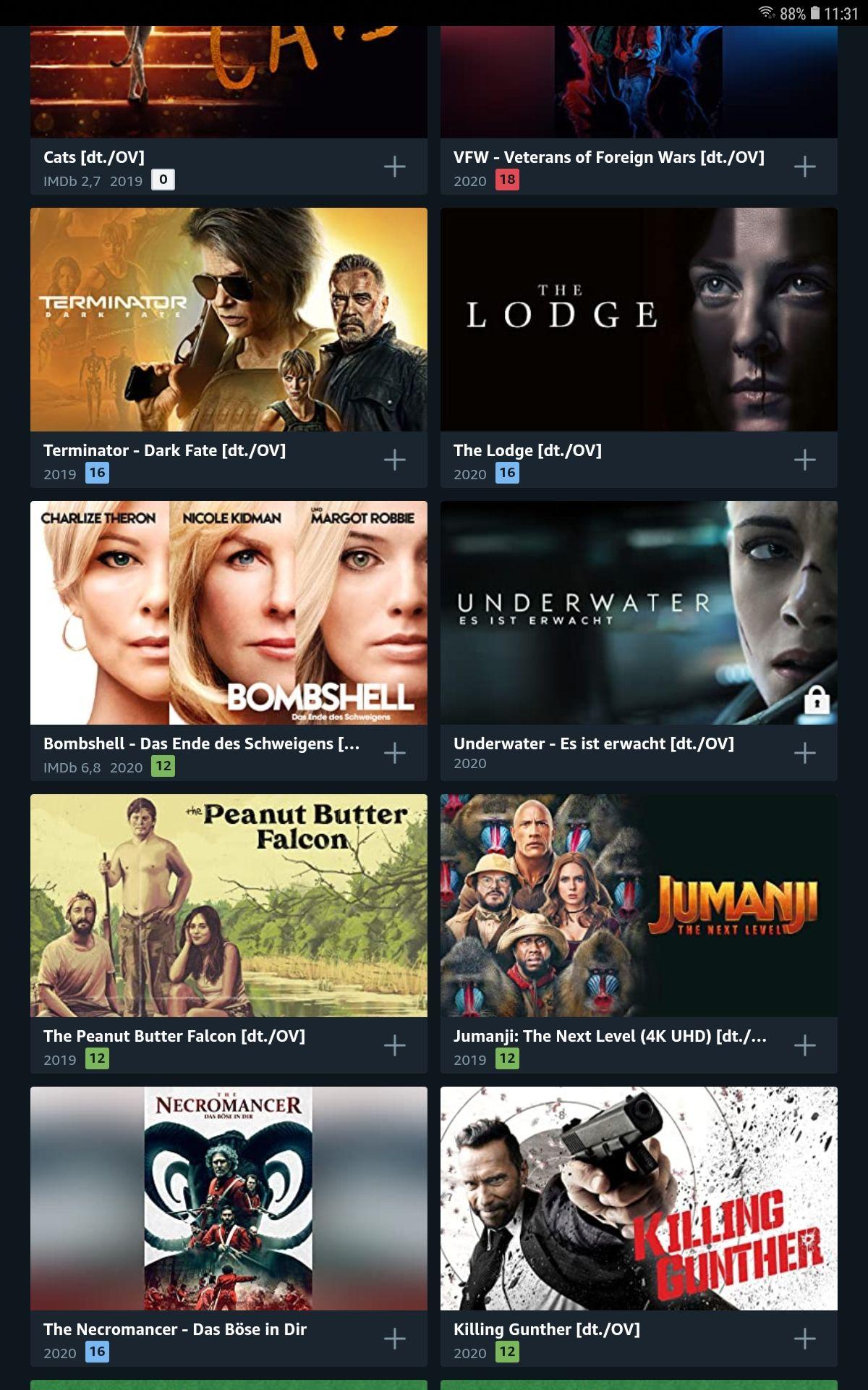 Amazon Prime Video Deals (mit u.a. 4k!)