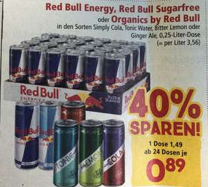 Red Bull oder Organics by Red Bull # Interspar #