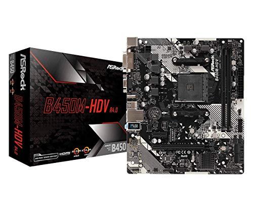 ASRock B450M-HDV R4.0 µATX Mainboard