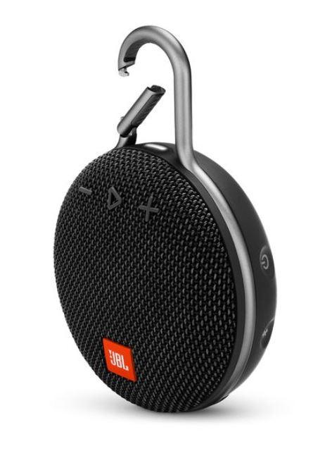 JBL Clip 3 Bluetooth Lautsprecher mit Karabinerhaken Schwarz