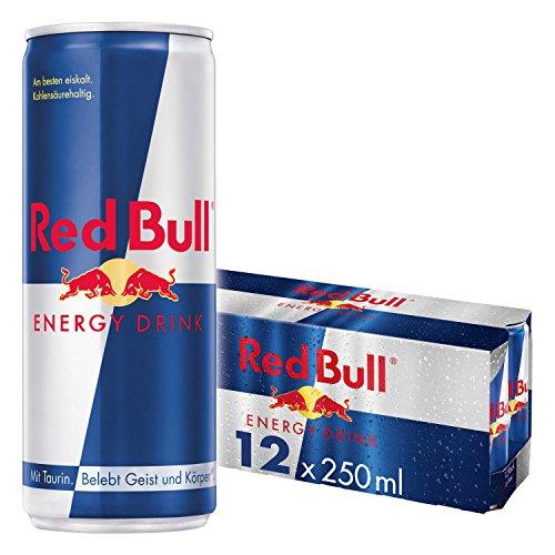 48x Red Bull, 0,76€/Dose (0,51€/Dose bei Pfandrückgabe)