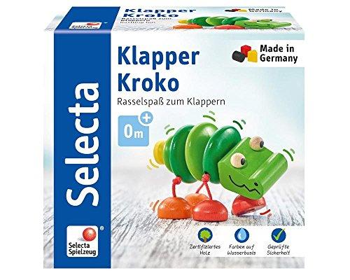 Preisjäger Junior Selecta Klapper-Kroko, Greifspielzeug