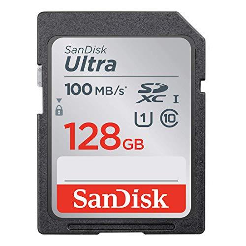 SanDisk Ultra 128GB SD-Speicherkarte (SDSDUNC-GN6IN) - 100MB/Sek