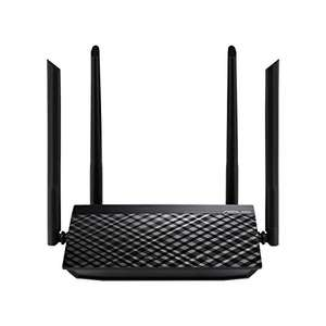 Asus RT-AC51 Router (WiFi 5 AC750 MIMO, 4x Fast Ethernet LAN, App Steuerung)