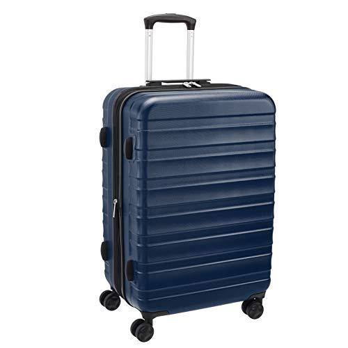AmazonBasics – Premium-Hartschalenkoffer, robust, 68 cm, blau