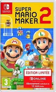 Super Mario Maker 2 - Limited Edition inkl. 12 Monate Nintendo Switch Online
