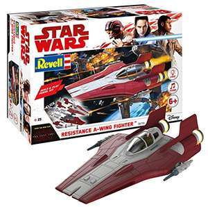 Revell Build & Play - Star Wars Resistance A-wing Fighter in rot - 06759, Maßstab 1:44