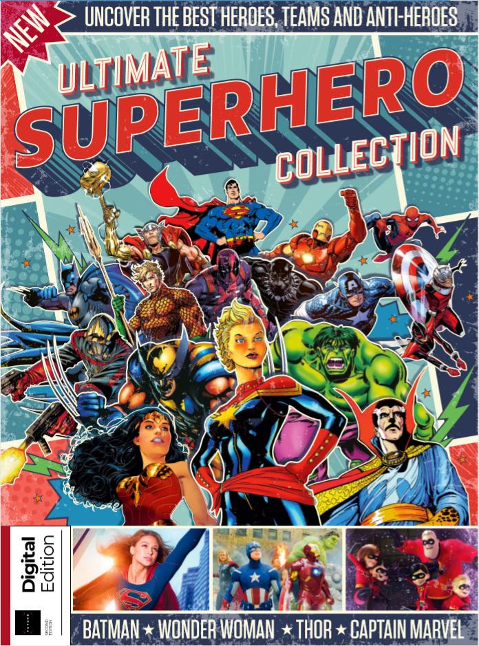 3x gratis Lesestoff (Ultimate Superhero Collection, Star Trek Quizbook, 100 Greatest Graphic Novels)