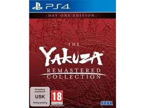 The Yakuza Remastered Collection - Day One Edition (PlayStation 4)