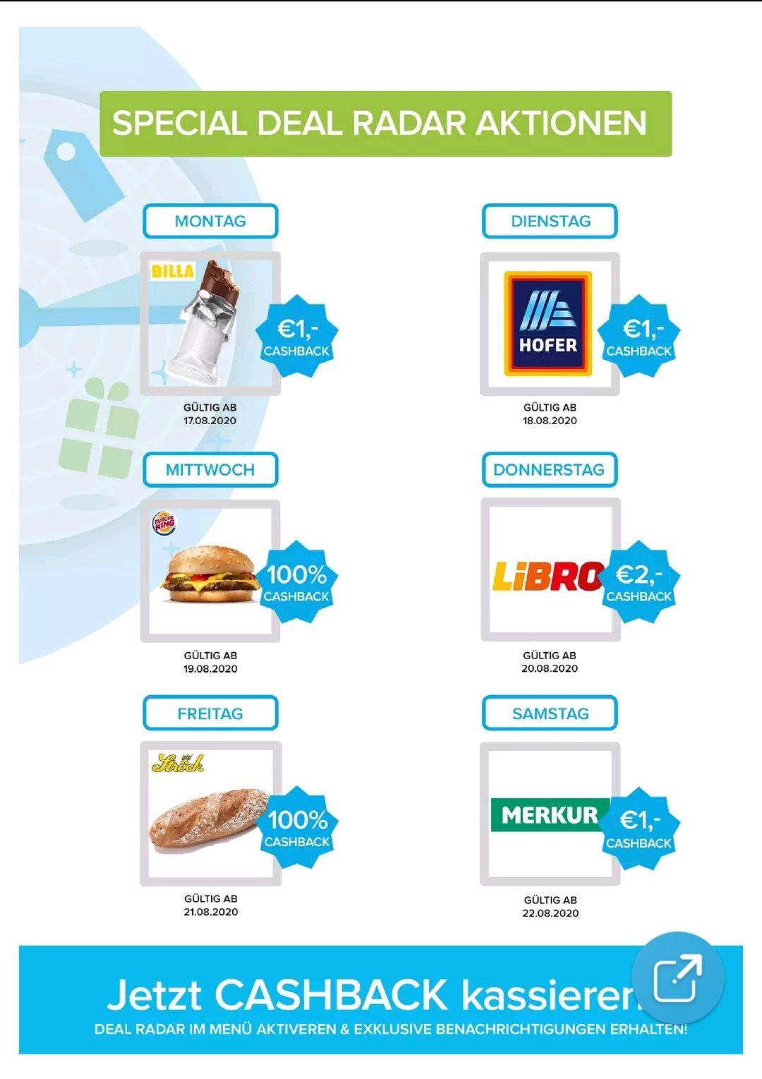 Markguru Cashback 1€ oder 100% bei verschiedenen Shops