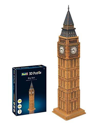 """Revell 3D Puzzle """"Big Ben"""" (Uhrturrm Westminster Palace)"""