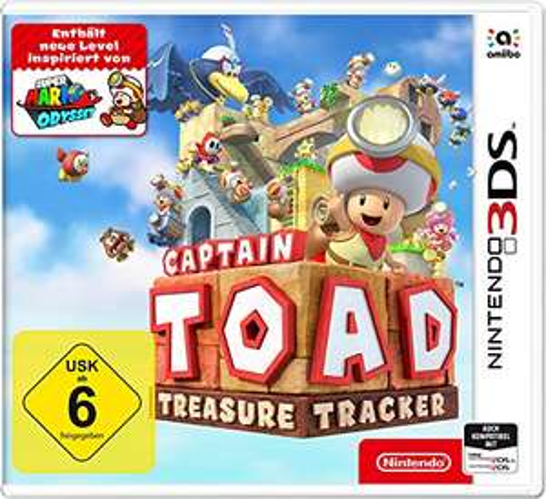 (Nintendo 3DS) Captain Toad: Treasure Tracker