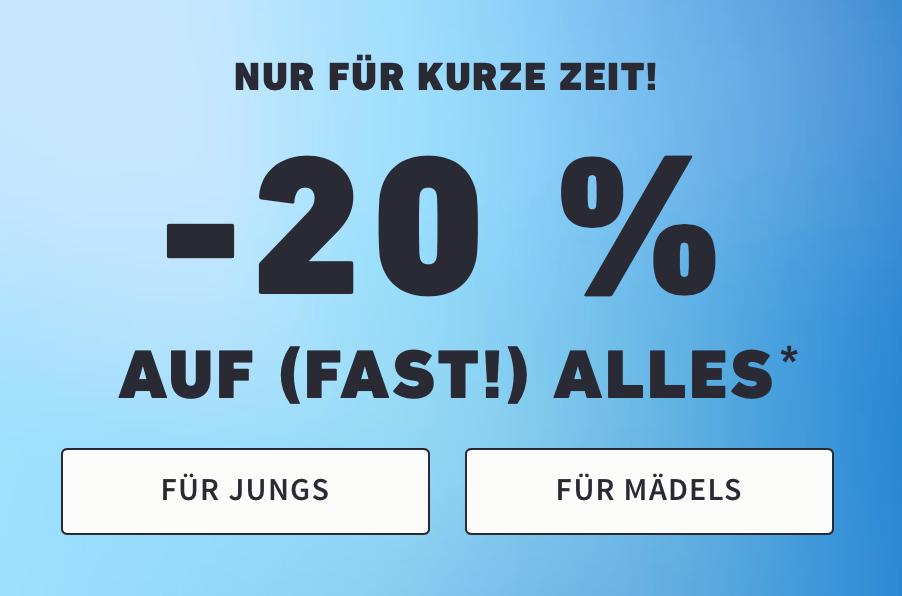 Hollister: 20% Rabatt auf (fast) Alles + gratis Versand ab 50 € + 3x Unterwäsche um 18 €