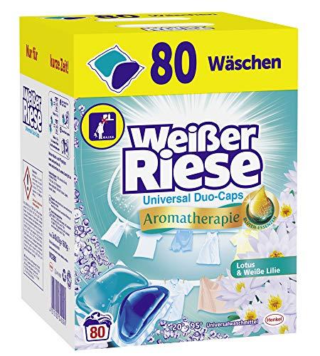 Weißer Riese Universal Duo-Caps Aromatherapie 80 Waschladungen im Spar-Abo