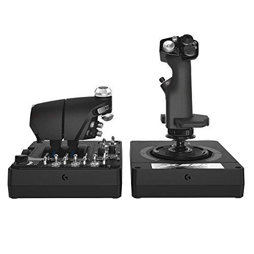 Logitech G X56 H.O.T.A.S. Schubregler & Stick-Controller