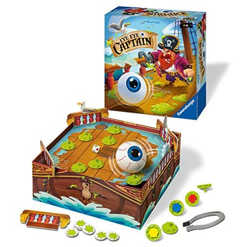 Ravensburger 21470 - Eye Eye Captain - Aktionsspiel für Kinder ab 4 Jahren
