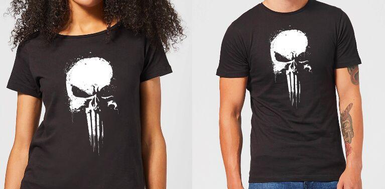 Marvel Punisher T-Shirt für Sie & Ihn