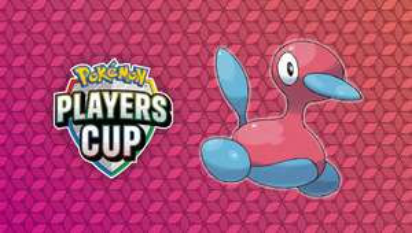 Pokémon Schwert / Schild (Switch) Erhalte zur Feier des Pokémon Players Cups ein Porygon2 mit Kampfregel-Symbol