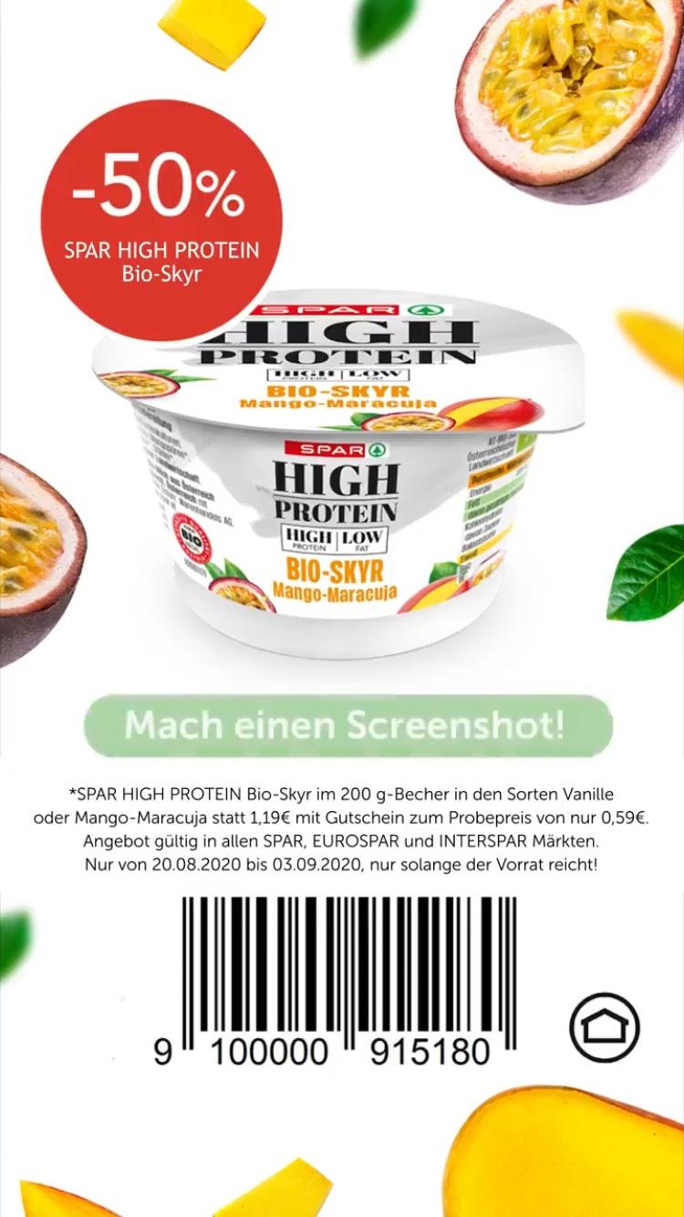 Spar/Eurospar/Interspar - High Protein Bio-Skyr